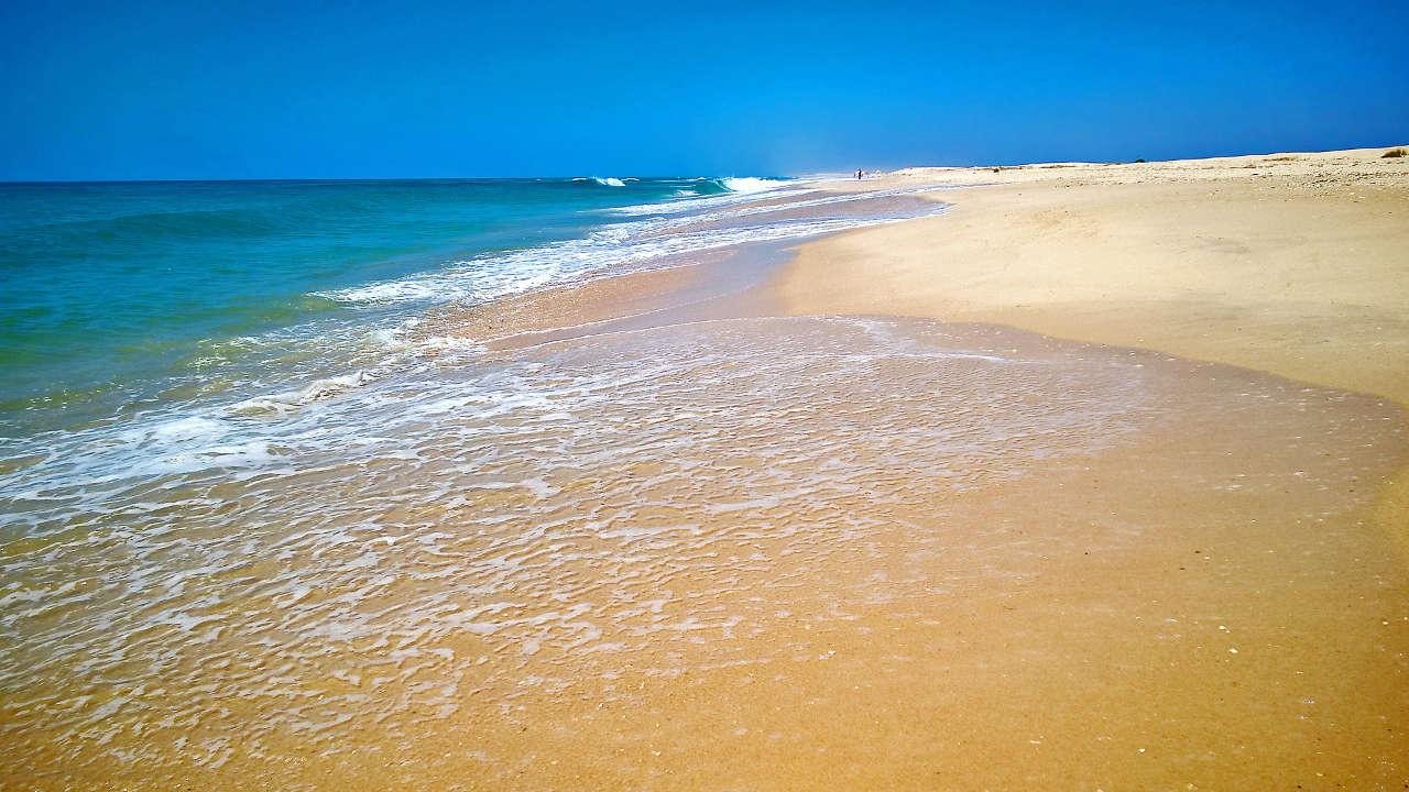Sandstrand der Ilha de Tavira