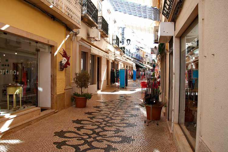 Loulé - relaxed - shoppen